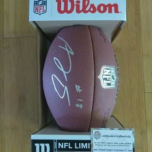A.J Green Cincinnati Bengals Autograph football
